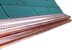 Aluminum Amp Copper Gutter Guards Forever Lifetime Gutter